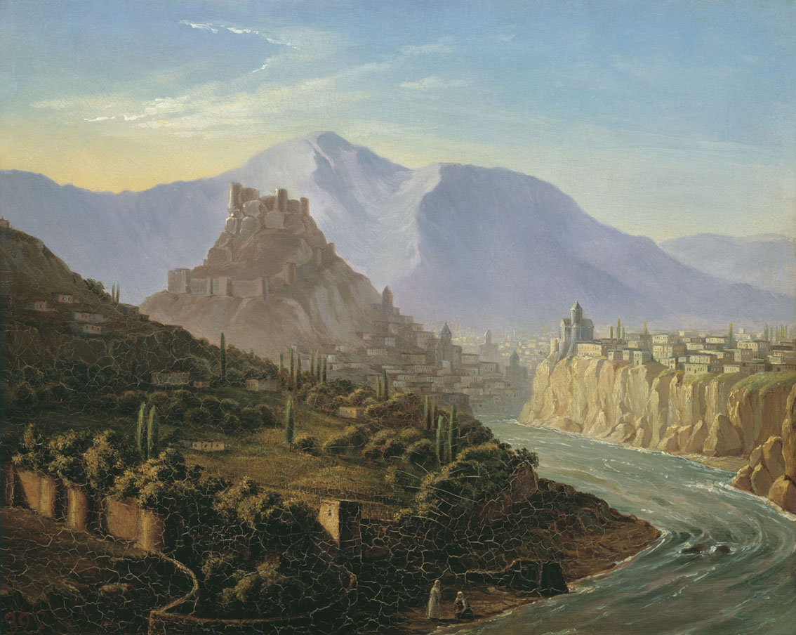 Representation of the Caucasus in Russian Romantic Literature